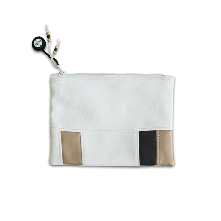 Immagine di Ksenka® Beauty case fatto a mano White & Copper