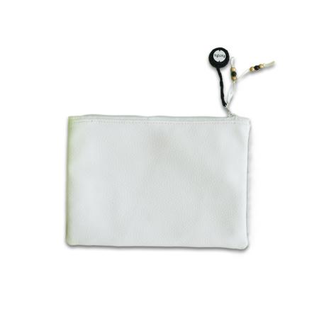 Ksenka® Beauty case fatto a mano White & Copper