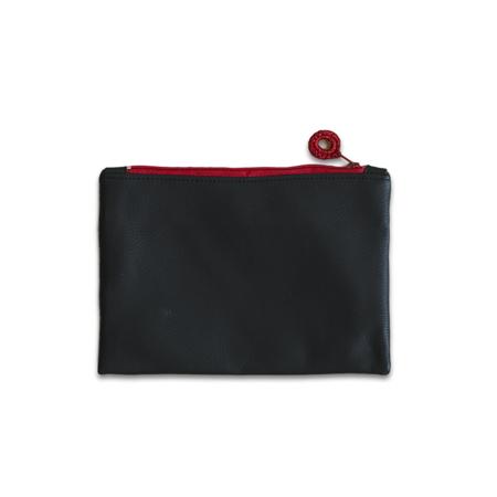 Ksenka® Beauty case fatto a mano Black & Red