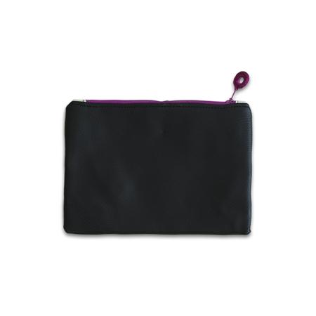 Ksenka® Beauty case fatto a mano Black & White Pink