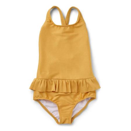 Immagine di Liewood® Costume da bagno intero bambini Amara Structure Yellow Mellow