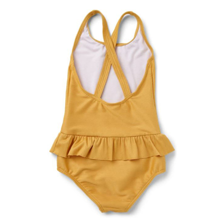 Liewood® Costume da bagno intero bambini Amara Structure Yellow Mellow