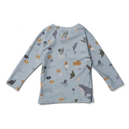 Liewood® T-shirt con protezione UV Noah Sea Creature Mix