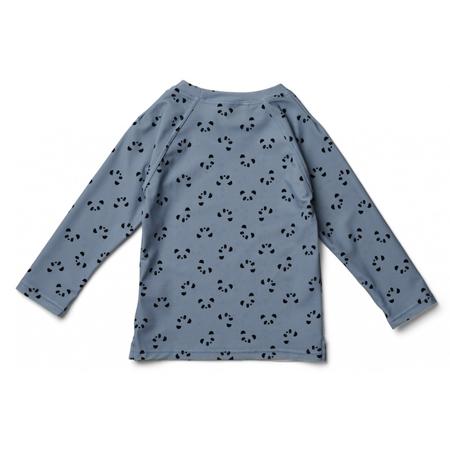 Liewood® T-shirt con protezione UV Noah Panda Blue Wave