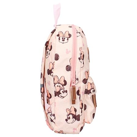 Immagine di Disney's Fashion® Zaino rotondo Minnie Mouse Rocking It Peach