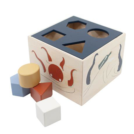 Immagine di Sebra®  Cubo in legno per selezione forme Seeven Seas