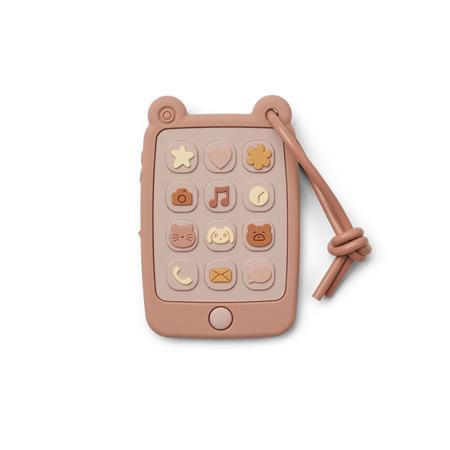 Immagine di Liewood® Giocattolo di attività  in silicone Telefono Thomas Rose