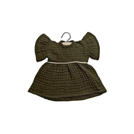 Minikane® Vestito per le bambole Daisy Kaki 32cm