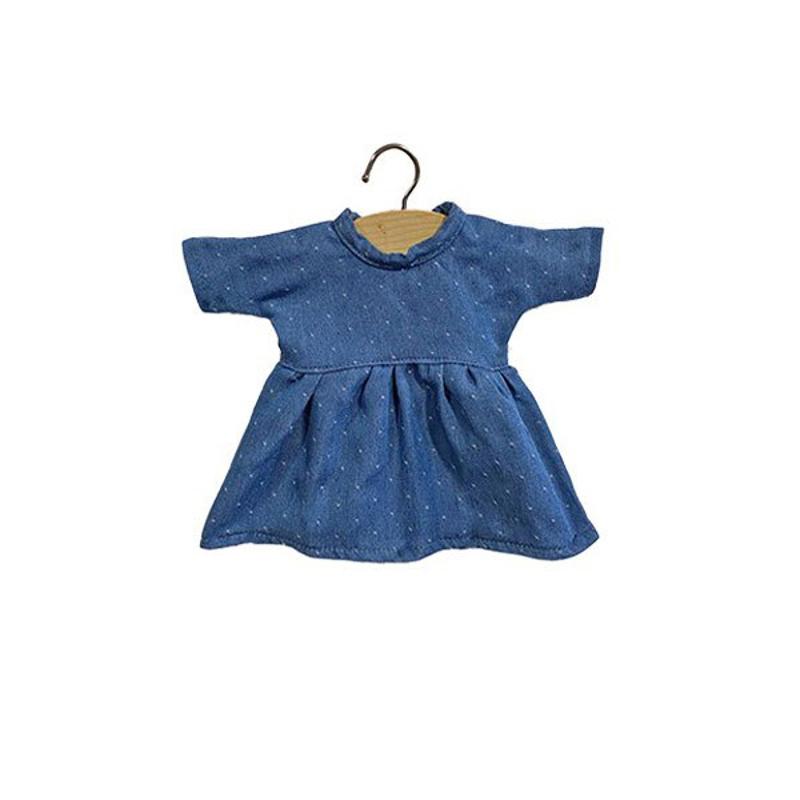 Immagine di Minikane® Vestito per le bambole Faustine Denim 32cm