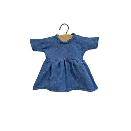 Minikane® Vestito per le bambole Faustine Denim 32cm