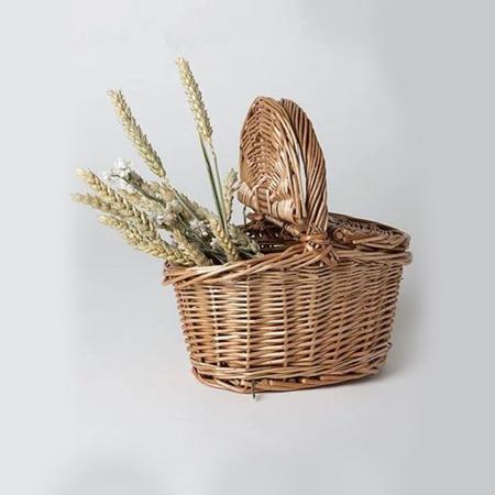 Minikane® Cestino da picnic in vimini