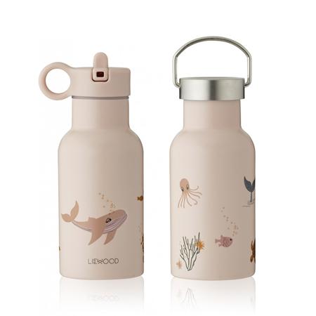 Immagine di Liewood® Bottiglia in acciaio inossidabile Anker Sea Creature Rose Mix 350ml