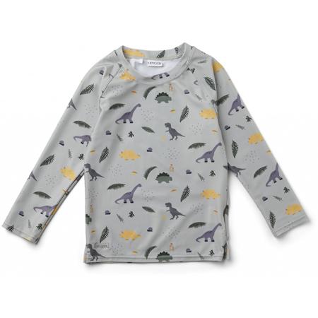 Immagine di  Liewood® Majica s UV zaštitom Noah Dino Dove Blue Mix