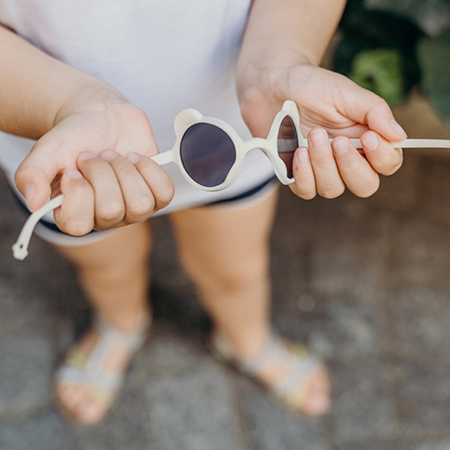 KiETLA® Occhiali da sole per bambini Almond Green 1-2 anni