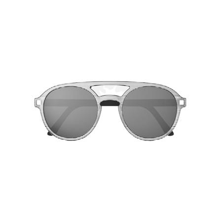 Immagine di KiETLA® Occhiali da sole per bambini Stripe Pizz 6-9 anni