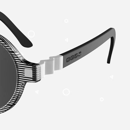 Immagine di KiETLA® Occhiali da sole per bambini Stripe Buzz 6-9 anni