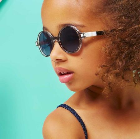 KiETLA® Occhiali da sole per bambini Black Buzz 6-9 anni