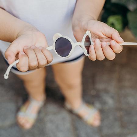 KiETLA® Occhiali da sole per bambini  White 0-1 anni