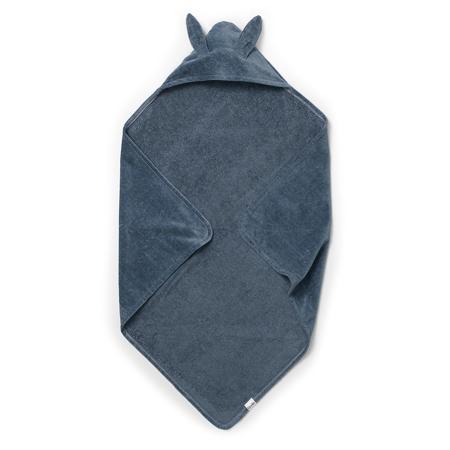 Elodie Details® Asciugamano con cappuccio Blue Bunny 80x80