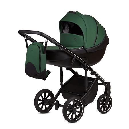 Immagine di Anex® Passeggino con navicella e borsa 2in1 M/Type (0-22kg) Lime