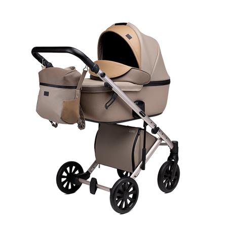 Immagine di Anex® Passeggino con navicella e borsa 2in1 E/Type (0-22kg) Truffle
