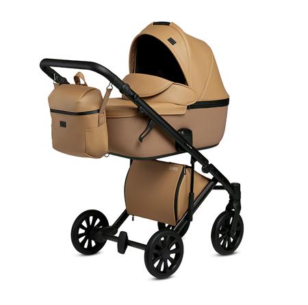 Immagine di Anex® Passeggino con navicella e borsa 2in1 E/Type (0-22kg) Caramel