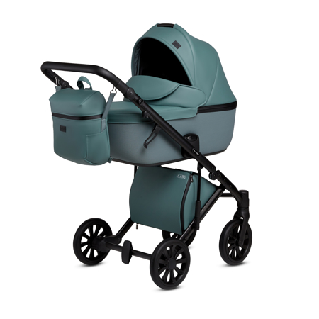 Immagine di Anex® Passeggino con cestino e zaino 2v1 E/Type (0-22kg) Aqua