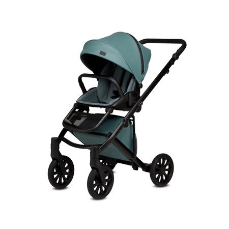 Anex® Passeggino con cestino e zaino 2v1 E/Type (0-22kg) Aqua