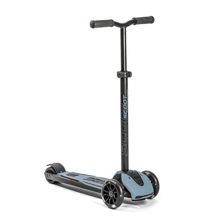 Scoot & Ride® Monopattino per bambini Highwaykick 5 LED Steel