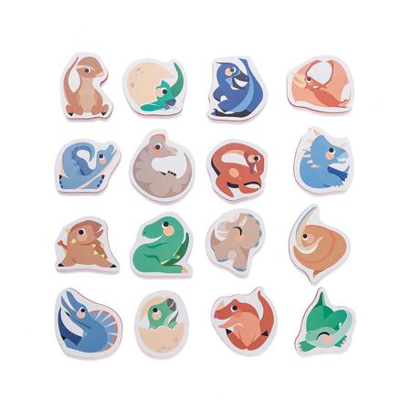 Petit Monkey® Puzzle in schiuma per il bagno Dinosaurs