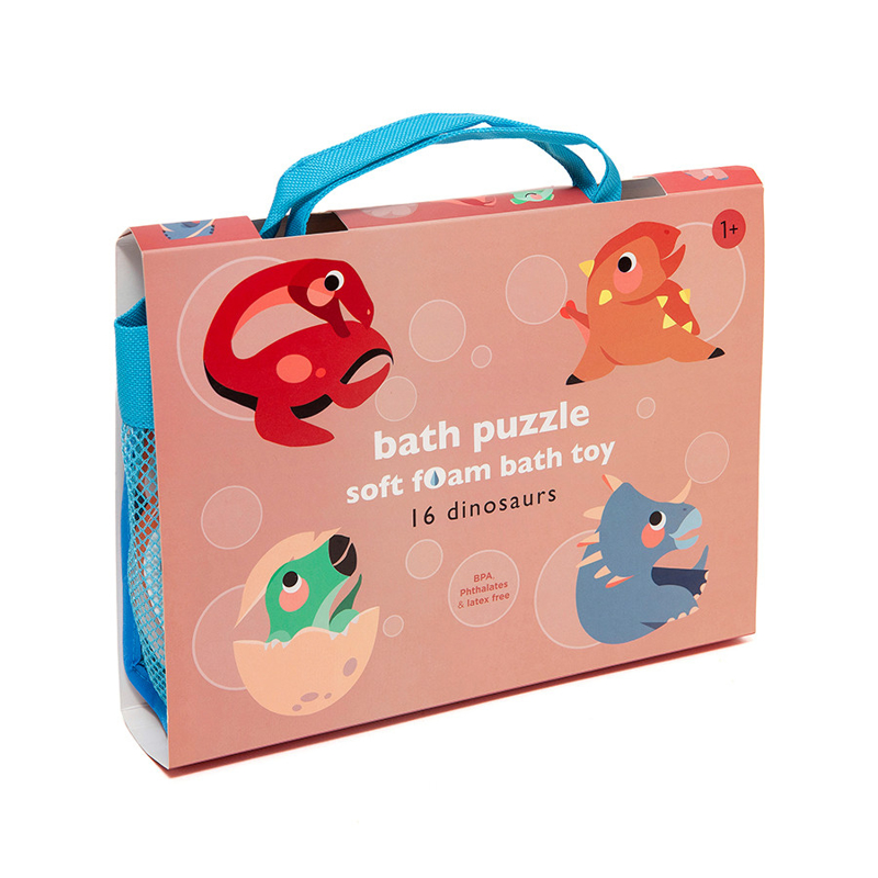 Immagine di Petit Monkey® Puzzle in schiuma per il bagno Dinosaurs