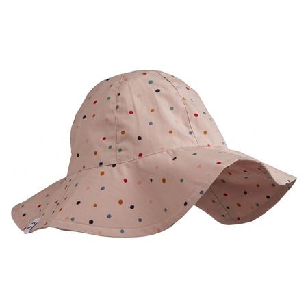 Liewood® Amelia Cappello con protezione UV Confetti Mix 0-3 M
