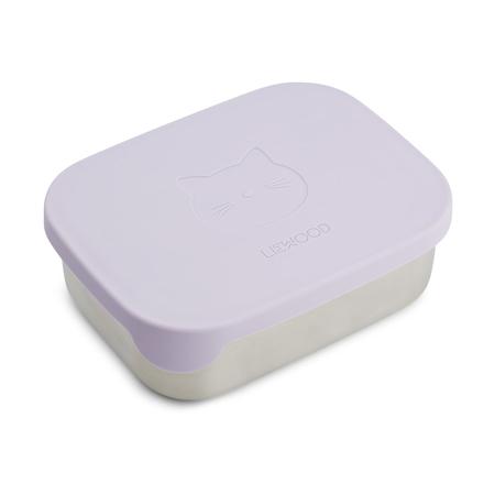 Immagine di Liewood® Contenitore merenda Arthur Cat Light Lavender