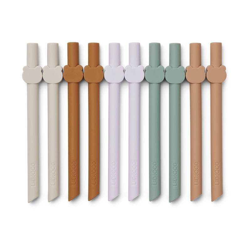Immagine di Liewood® Cannucce silicone Badu Multi Mix