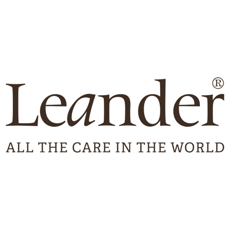 Immagine di Leander® Manico in pelle 6 pezzi Brown