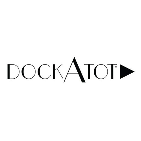 Immagine di DockAtot® Riduttore nido Deluxe+ Marine Chambray (0-8 m)