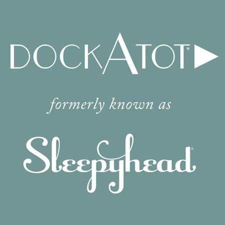 Immagine di DockAtot® Riduttore nido Deluxe+ Marine Shibori (0-8 m)