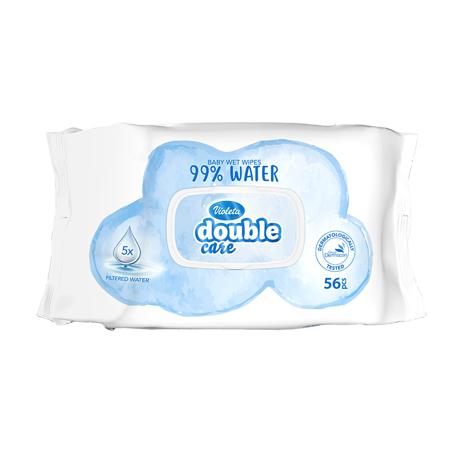Violeta® Salviettine umidificate Water Care 56/1