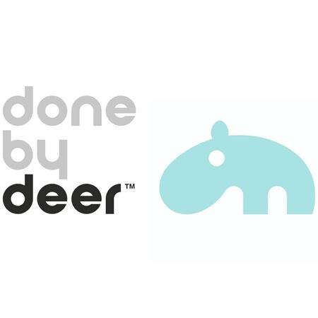Immagine di Done by Deer® Doudou e portaciuccio Elphee Blue