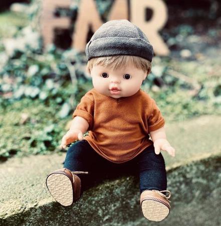 Minikane® Bambola maschietto Achille 34cm