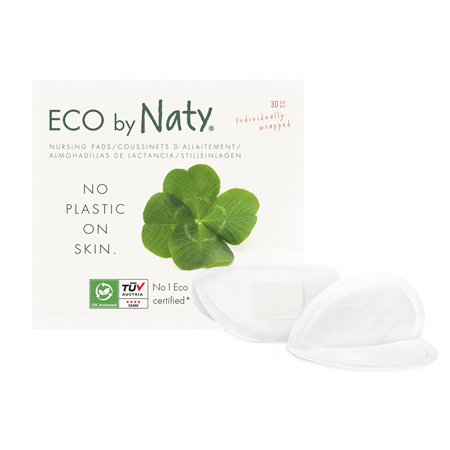 Eco by Naty® Coppette assorbilatte 30 pezzi