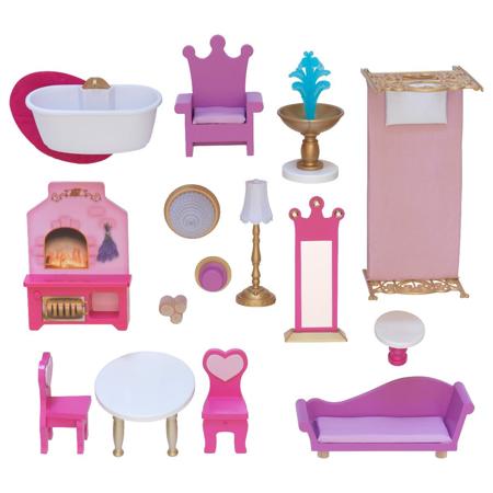 KidKraft® Casa delle bambole Rose Garden Castle con accessori