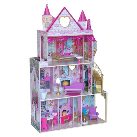Immagine di KidKraft® Casa delle bambole Rose Garden Castle con accessori