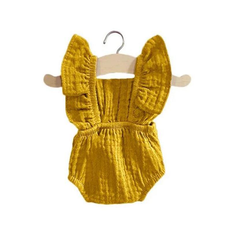 Immagine di Minikane® Vestito per le bambole Lou Moutarde 34cm