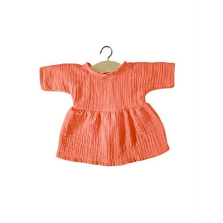 Immagine di Minikane® Vestito per le bambole Faustine Lurex Beige 34cm