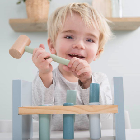 Immagine di Little Dutch® Giocattolo in legno con un martelletto Ocean