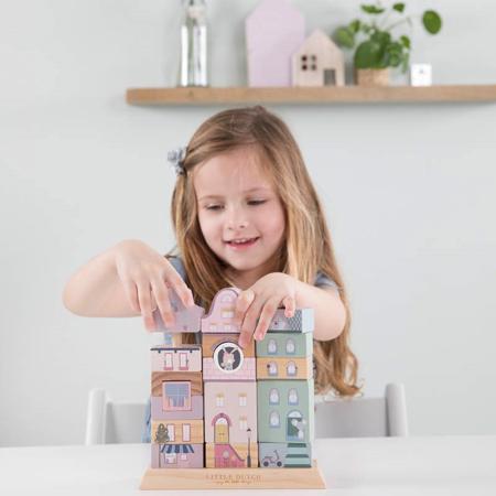 Immagine di Little Dutch® Cubi in legno Pink