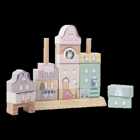 Little Dutch® Cubi in legno Pink