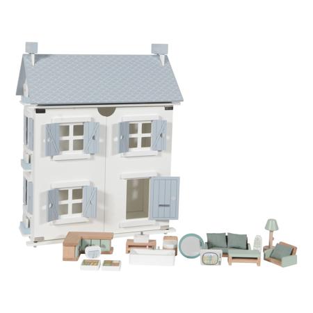 Immagine di Little Dutch® Casetta in legno per bambole