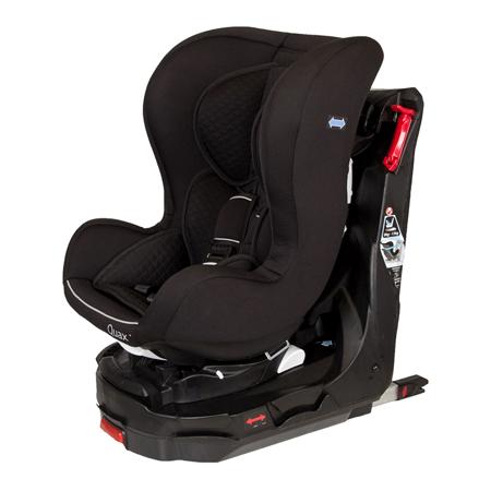 Quax® Seggiolino auto Easy Rider 360° Isofix  0+/1 (0-18 kg) Black